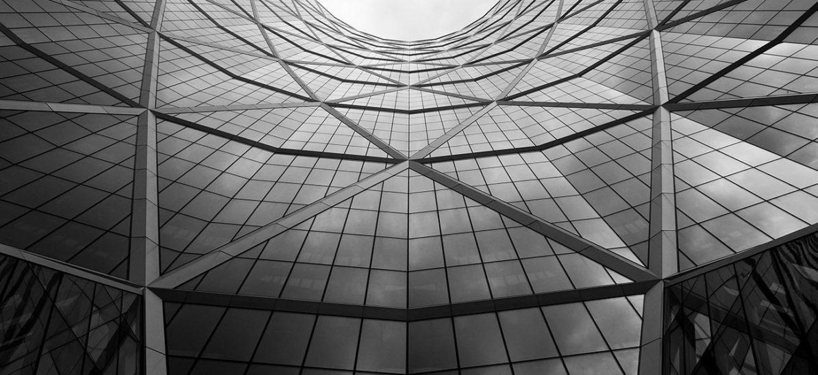 large enterprise business building